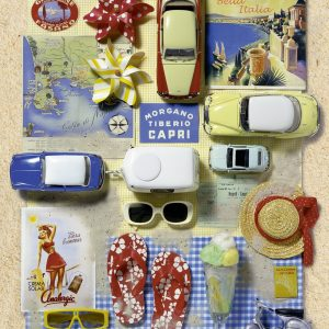 Vacaton Collage 500 PC Jigsaw Puzzle