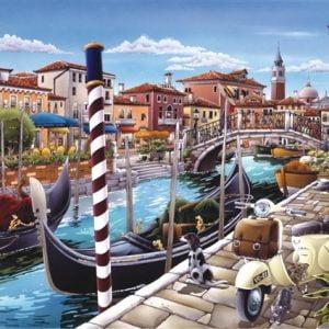 Venetian Canal 1500 PC Jigsaw Puzzle