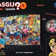 Wasgij 1 Back to Basics 1000 PC jigsaw Puzzle