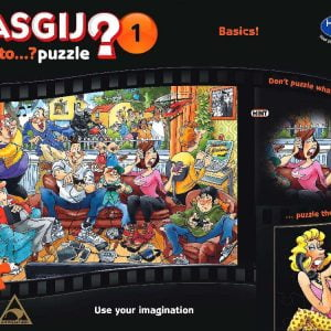 Wasgij 1 Back to Basics 1000 PC jigsaw Puzzle