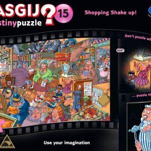 Wasgij 15 Shopping Shake up Destiny 1000 PC Jigsaw Puzzle