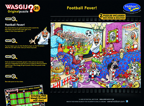 Wasgij 21 Original Football