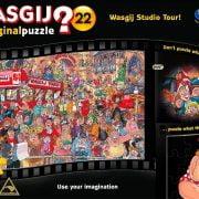Wasgij 22 Studio Tour 1000 PC Original Jigsaw Puzzle