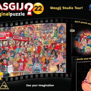 Wasgij 22 Studio Tour 1000 PC Original Jigsaw Puzzle