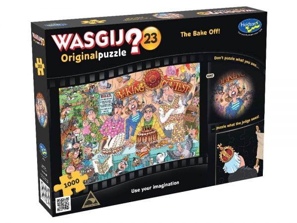 Wasgij 23 The Bake Off Original Jigsaw Puzzle 1000 PC