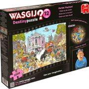 Wasgij Destiny 12 Market Mayhem 1000 PC Jigsaw Puzzle