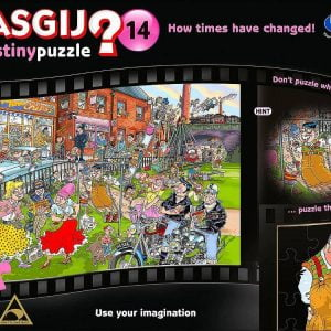 Wasgij Destiny 14 How Times have changed 1000 PC Jigsaw Puzzle