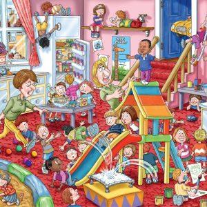 Wasgij Mystery 11 Childcare 1000 Piece Jigsaw Puzzle