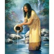 Waterfall Maiden 1000 Piece Jigsaw Puzzle