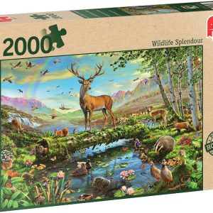Wildlife Splendour 2000PC Jigsaw Puzzle