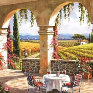 Wine Country Terrace 1500 PC Jigsaw Puzzle