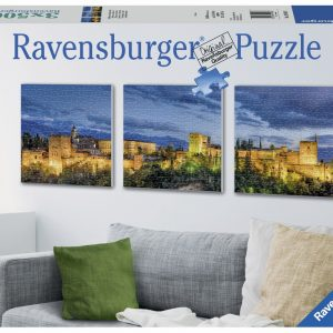 Alhambra at Wwilight 3 x 500 PC Jigsaw Puzzle