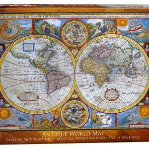 3d vintage globe 540 piece puzzleball from ravensburger antique world map 1000 pc jigsaw puzzle gumiabroncs Choice Image