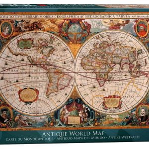Antique World Map 1000 PC Jigsaw Puzzle Latest