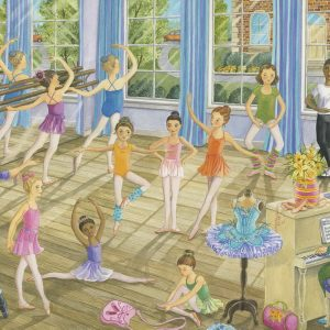 Ballet Lesson 35 PC Jigsaw Puzzle