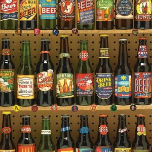 Beer Collecton 1000 PC Jigsaw Puzzle