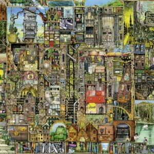 Bizarre Buildings 5000 PC Jigsaw Puzzle