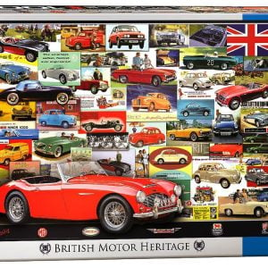 British Motor Heritage 1000 PC Jigsaw Puzzle