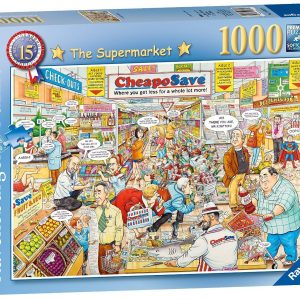 British Supermarket 1000 pC Jigsaw Puzzle
