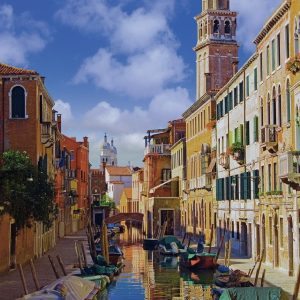 Canals of Venice 500 PC Jigsaw Puzzle