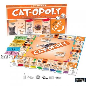 Cat Opoly Board Game