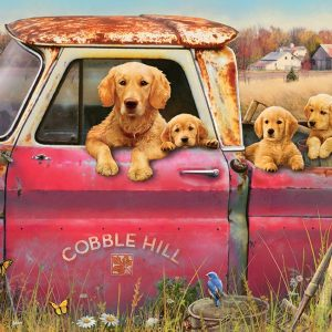 Cobble Hill Farm 1000 PC Jigsaw Puzzle