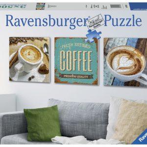 Coffee 3 x 500 PC Jigsaw Puzzle
