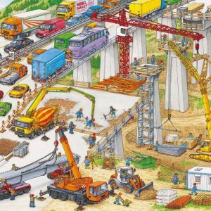 Construction Site 100 XXL PC Jigsaw Puzzle