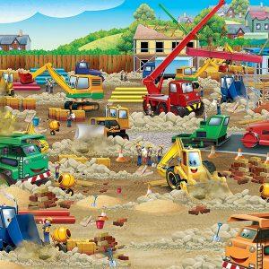 Construction Zone 36 PC Floor jigsaw Puzzle