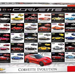 Corvette Evolution 1000 PC Jigsaw Puzzle
