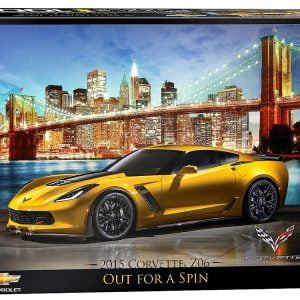 Corvette in Manhattan 1000 PC Jigsaw Puzzle