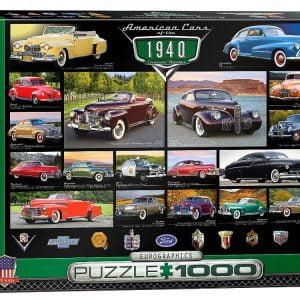 Cruisin Classics 1940s 1000 PC Jigsaw Puzzle