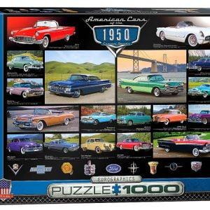 Cruisin Classics 1950s 1000 PC Jigsaw Puzzle