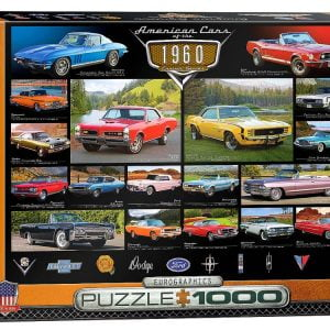 Cruisin Classics 1960s 1000 PC Jigsaw Puzzle