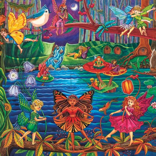 Fairy Forest 36 PC Jigsaw Puzzle