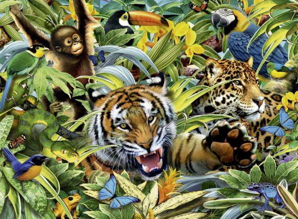 Favourite Wild Animals 300 XXL PC Jigsaw Puzzle