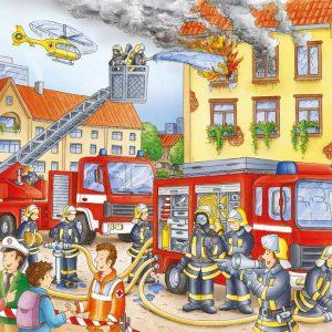 Fire Brigade 100 xxl PC Jigsaw Puzzle