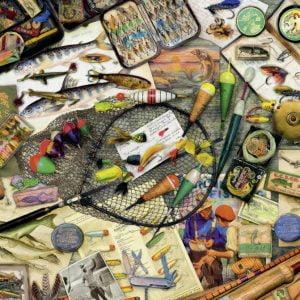 Fishing Fun 1000 PC Jigsaw Puzzle