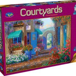 Floral Invitation 500 PC Jigsaw Puzzle