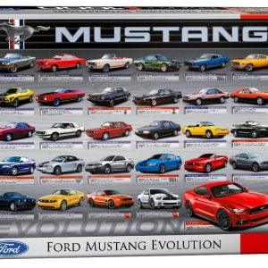 Ford Mustang Evolution 1000 PC Jigsaw Puzzle