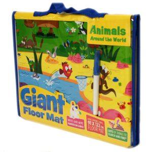 Giant Floor Mat Animal World