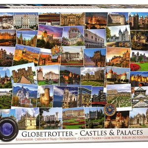 Globetrotter Castles & Palaces 1000 PC Jigsaw Puzzle