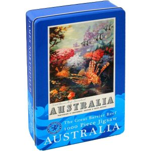 Great Barrier Reef 1000 PC Jigsaw Puzzle in Tin