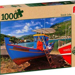 Greek Lake 1000 PC Jigsaw Puzzle
