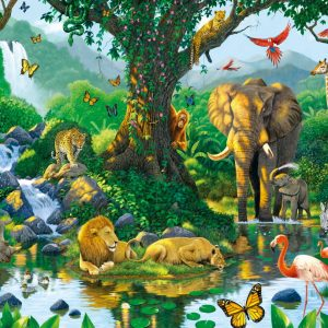 Harmony in the Jungle Puzzle