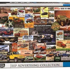 Jeep Advertising Collection 1000 PC Jigsaw Puzzle