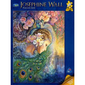 Josephine Wall Peacock Daze 1000 PC Jigsaw Puzzle