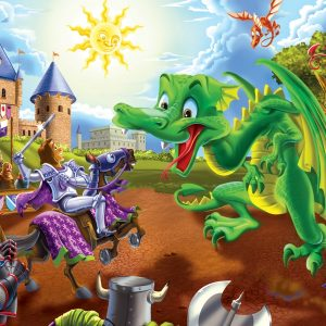 Knights & Dragons 36 PC Floor Jigsaw Puzzle