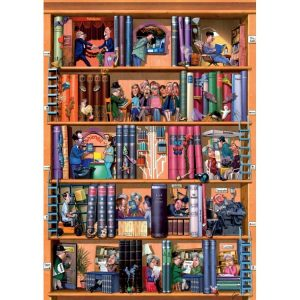 Kravarik Books 1500 PC Jigsaw Puzzle