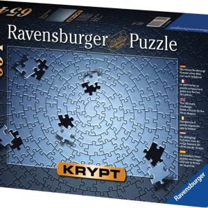 Krypt Spiral Silver 654 PC Jigsaw Puzzle